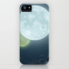 Two Moons iPhone Case