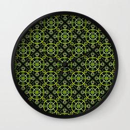 Riveting Grommets Wall Clock