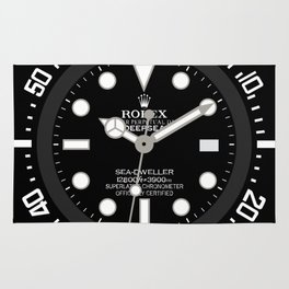 Rolex Deepsea 116660 - Black Dial Rug