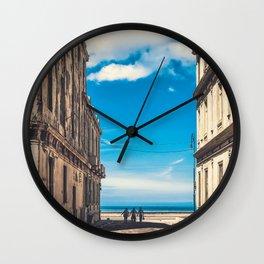 Cuban Horizons Wall Clock