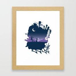 Sophie and Calcifer Framed Art Print