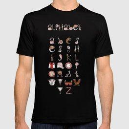Spills & Spoons Alphabet T-shirt