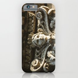 Uptown Chicago Architectural Detail Stone Face  iPhone Case