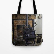 Wood Stove (Painted) Tote Bag