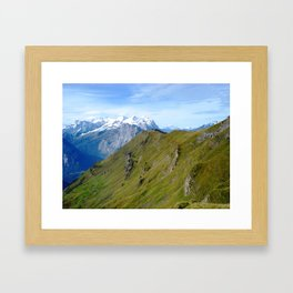 High Altitude Framed Art Print