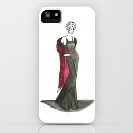 Passionate Women 1 iPhone Case