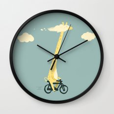 Head in the cloud Wall Clock