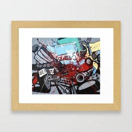 Atto di colore #2 Framed Art Print