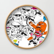 fight the power Wall Clock