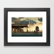 Fallout 4 - The Wanderer Framed Art Print