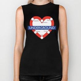 Love Underground Biker Tank