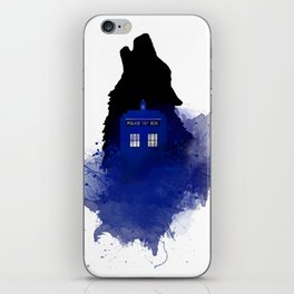 Dr.Who, Art, Design, Dr. Who Art, BadWolf, Bad Wolf iPhone Skin