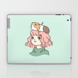 Guinea Pig Lady Laptop & iPad Skin