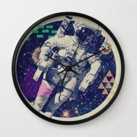 infinity Wall Clocks featuring INFINITY by Steven Kline