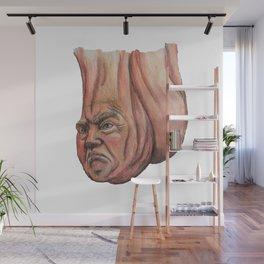 Donald Trump As A Scrotum Wall Mural