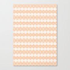 perfect peach Canvas Print