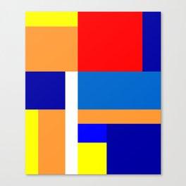 Mondrian #10 Canvas Print