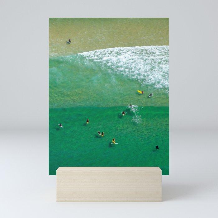Surfing Day VI Mini Art Print