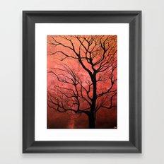 Rose Tree Framed Art Print