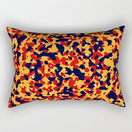 Abstract organic pattern II Rectangular Pillow