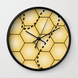 Beehive Wall Clock