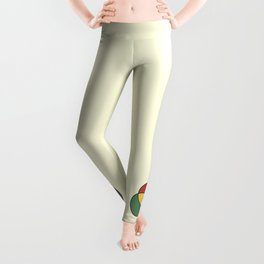 Matthew Luckiesh: The Additive Method of Mixing Colors (1921), vintage re-make Leggings