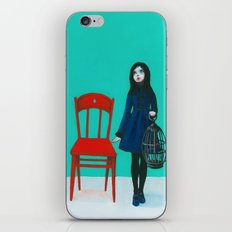 A Blue Bird iPhone & iPod Skin