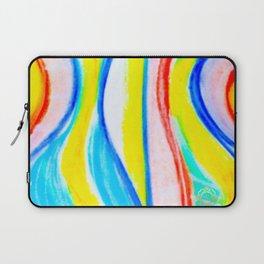 Barceloneta beach fashion print- original Laptop Sleeve