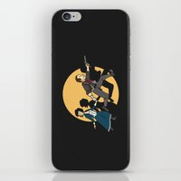tintin iPhone & iPod Skins featuring TinTinfinite by Moysche Designs
