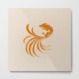 Nine Tails Metal Print