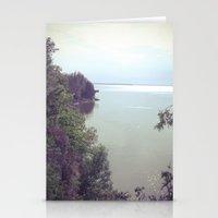 moonrise Stationery Cards featuring MOONRISE by Katherine Sevon Photography