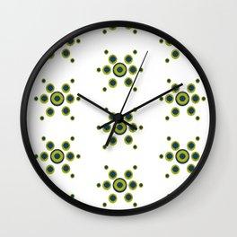 Romney Blue Wall Clock