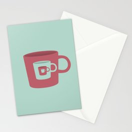 Lord of the mugs Stationery Cards