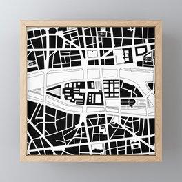 Île de la Cité. Paris Framed Mini Art Print