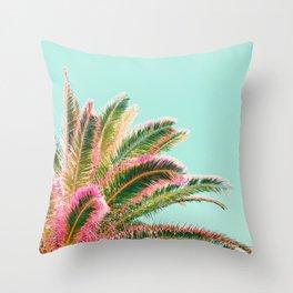 Fiesta palms Throw Pillow