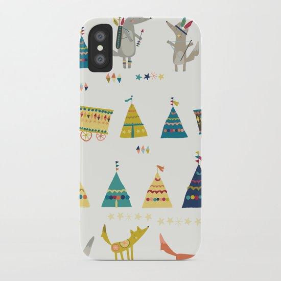 Wolf Pattern iPhone Case