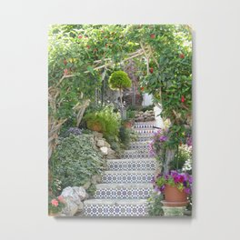 A garden in Spain Metal Print