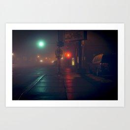 1 A.M. Art Print