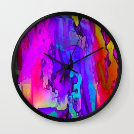Abstracted Moods Wall Clock