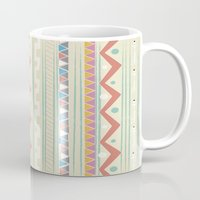 native Mugs featuring Native by Nika