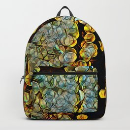 Golden Abstract 6 Backpack