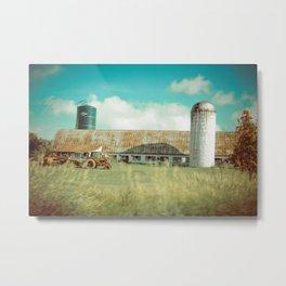 Roadside Vermont Metal Print