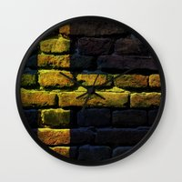 sweden Wall Clocks featuring Sweden by Nicklas Gustafsson