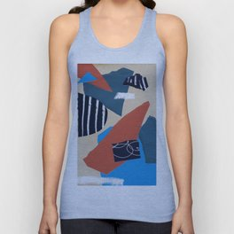 collage Unisex Tank Top