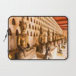 Wat Si Saket Buddhas I, Vientiane, Laos Laptop Sleeve