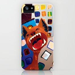 Eine Kleine Nachtmusik Red Cat iPhone Case