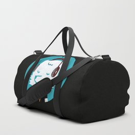 Metal Rock Dog Duffle Bag