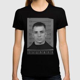 Jack Kerouac Naval Enlistment Mug Shot T-shirt