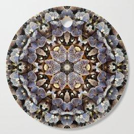 Mushroom Mandala 2 Cutting Board