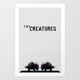 Tiny Creatures Art Print